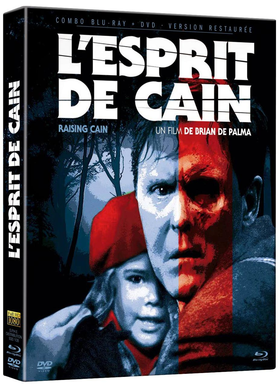 Blu-ray Raising Cain Elephant