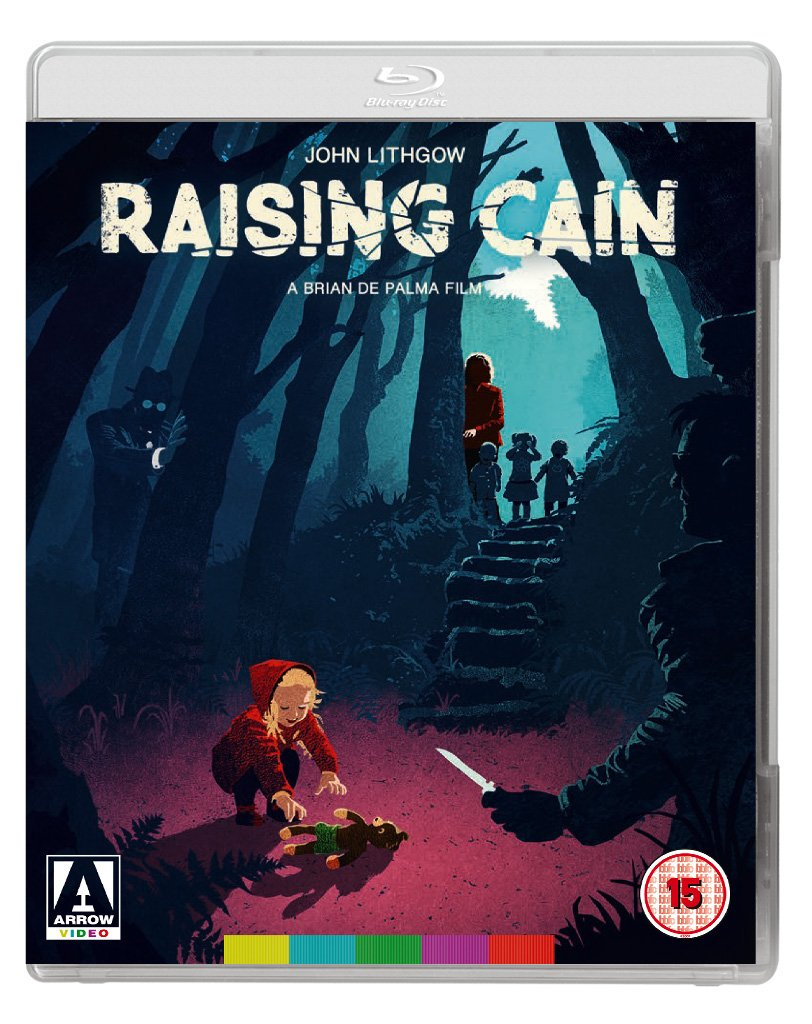Blu-ray Raising Cain Arrow
